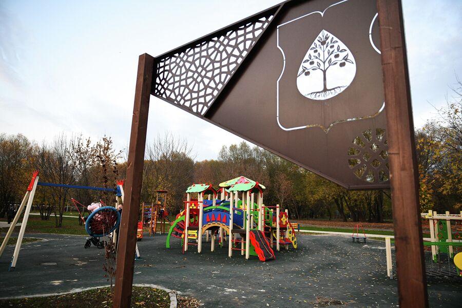 Детская площадка в Капотне