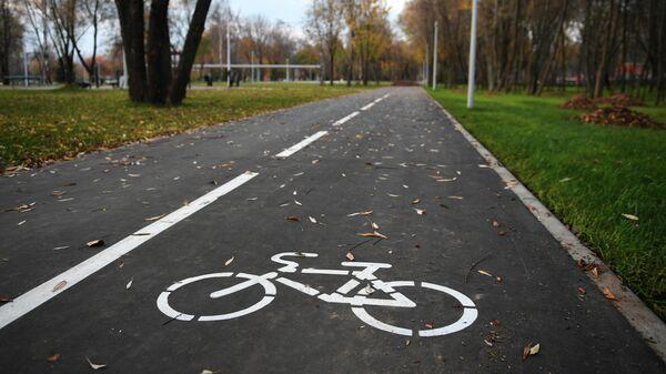 Велодорожка в Капотне