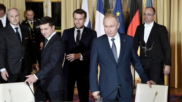 """Украина намерена провести """"нормандский саммит"""" в этом году"""