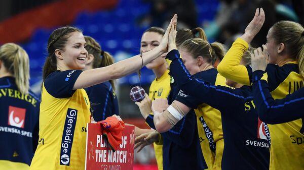Гандболистки сборной Швеции
