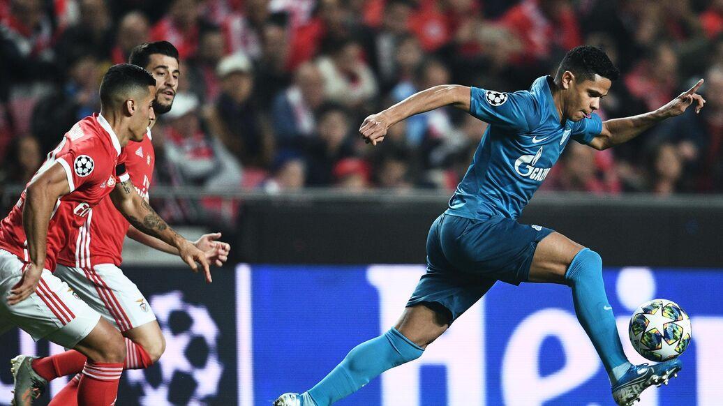 Футбол лига чемпионов зенит боруссия время начало игры