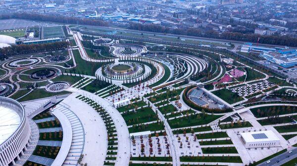 Парк Галицкого у стадиона Краснодар