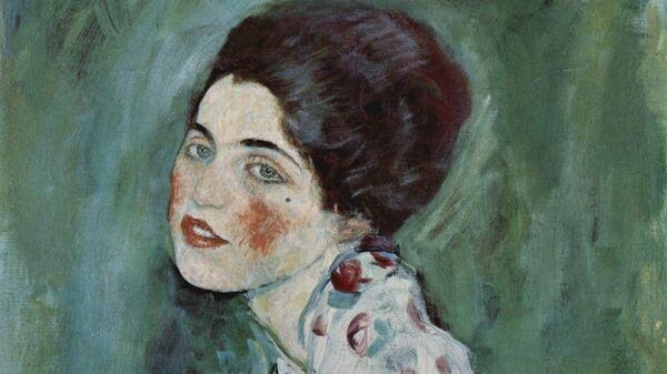 Густав Климт. Девушка. 1916