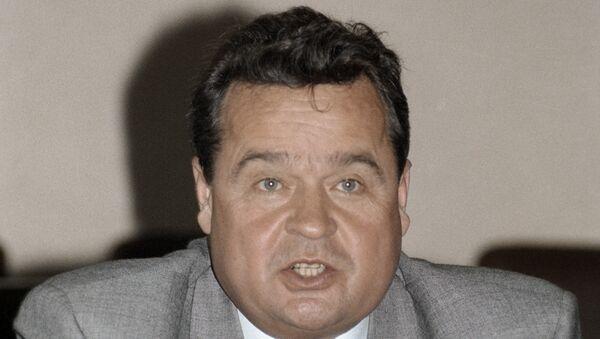Председатель Верховного Совета Украины Иван Плющ