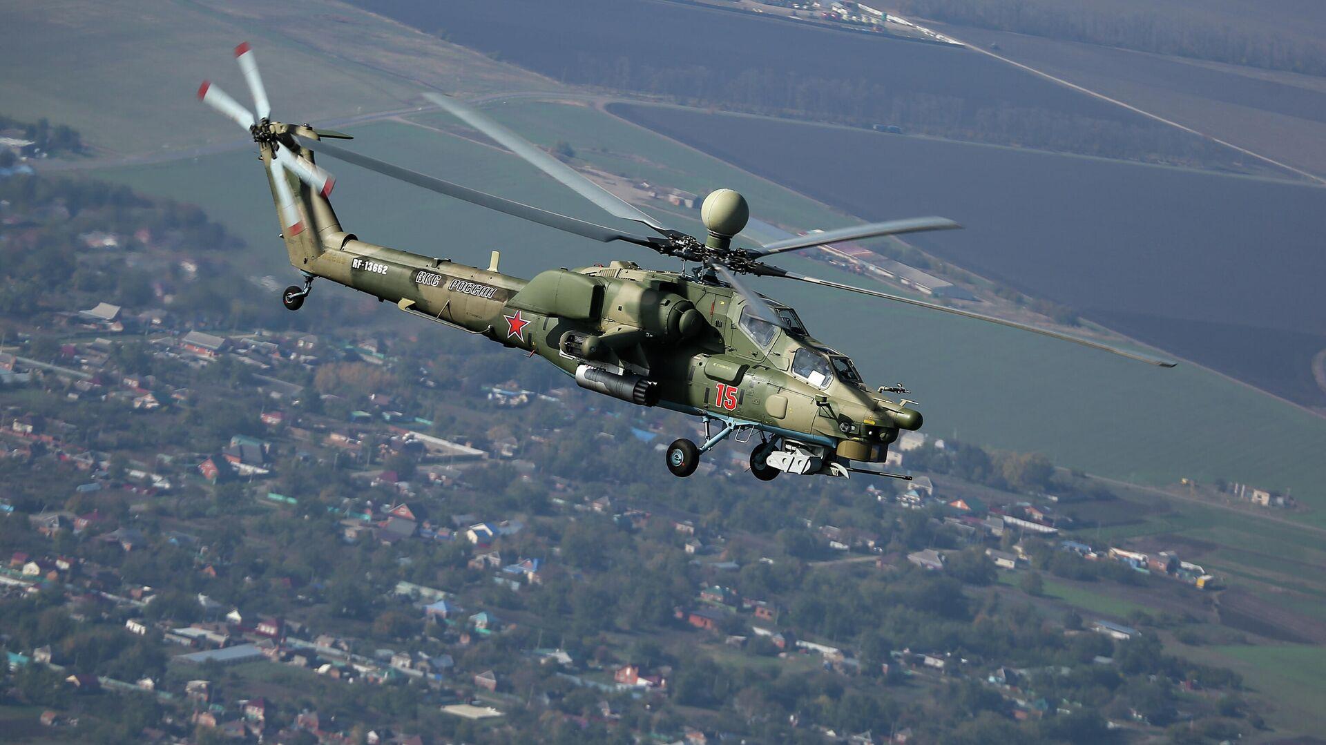 Ударный вертолет Ми-28Н  - РИА Новости, 1920, 14.04.2020