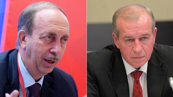 Александр Левинталь и Сергей Левченко
