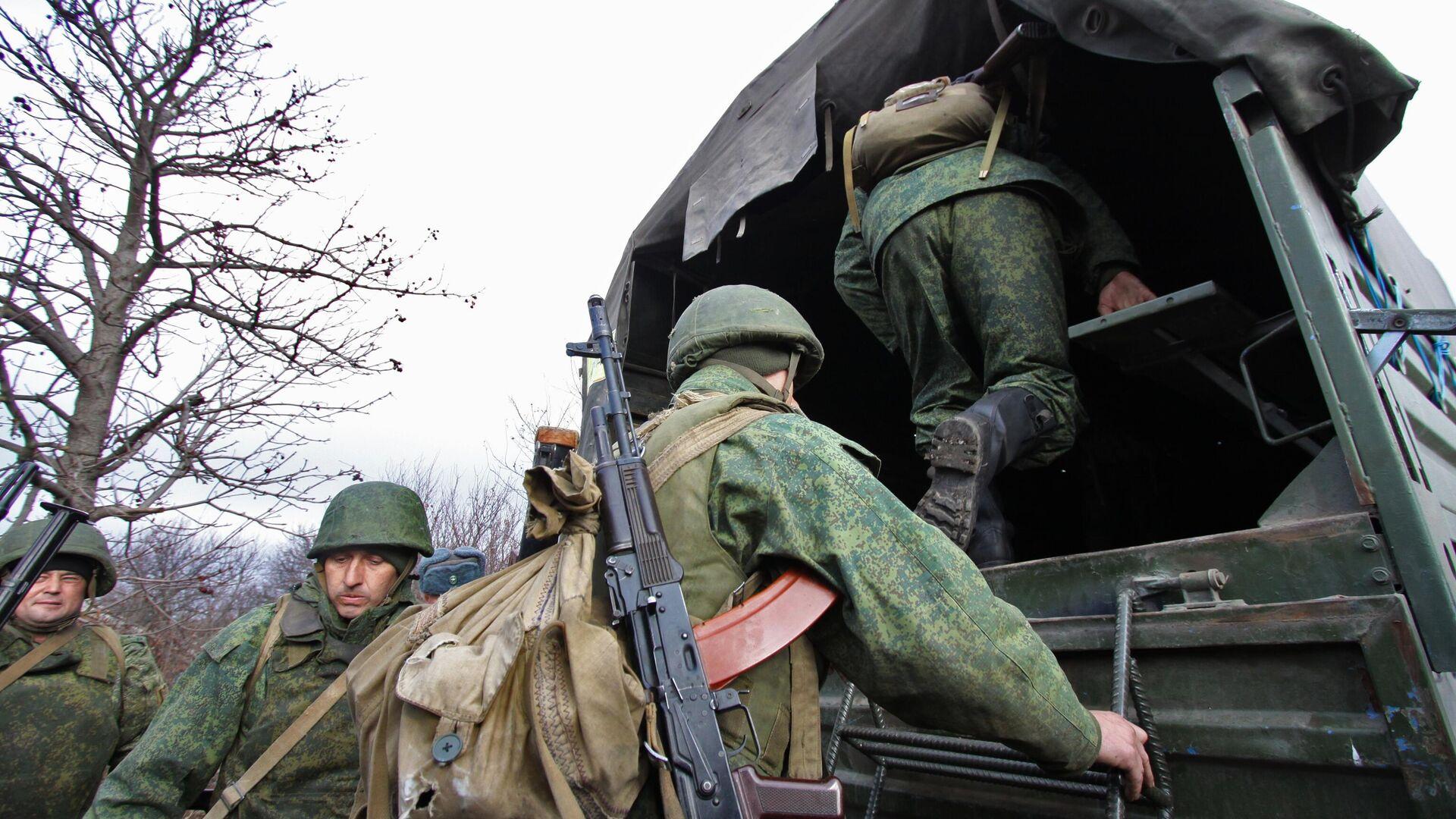 Разведение сил в Донбассе  - РИА Новости, 1920, 06.04.2021