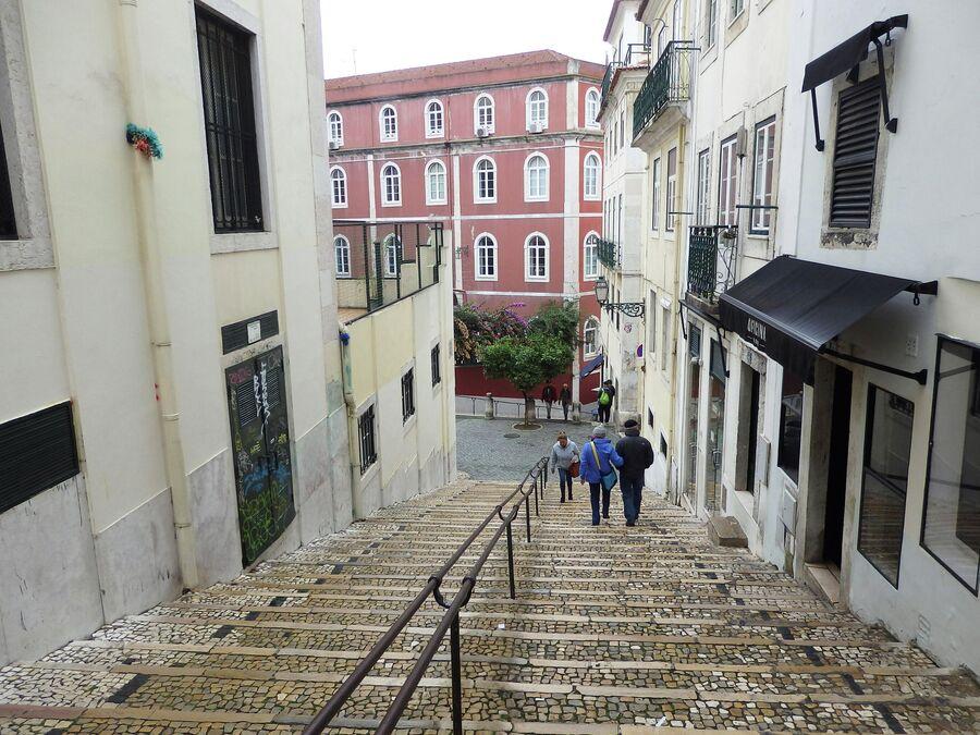 В центре Лиссабона