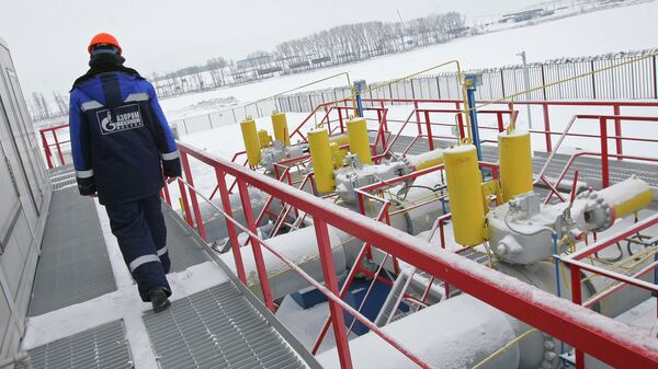 Газоизмерительная станция Суджа в Курской области