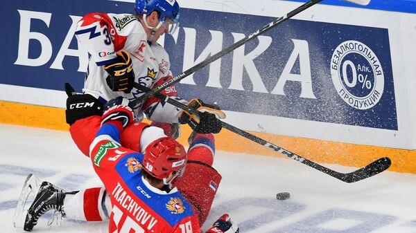 Владимир Ткачёв в матче Кубка Первого канала
