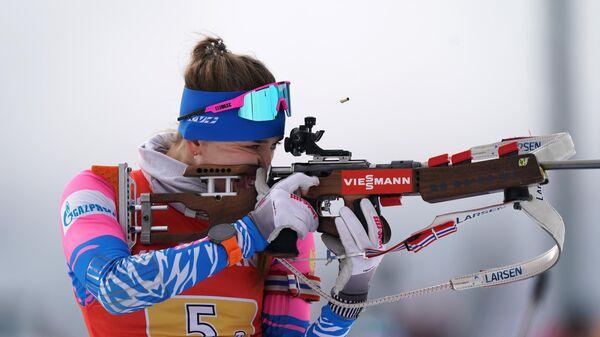 Биатлон. Женская сборная России завоевала серебро на II этапе КМ