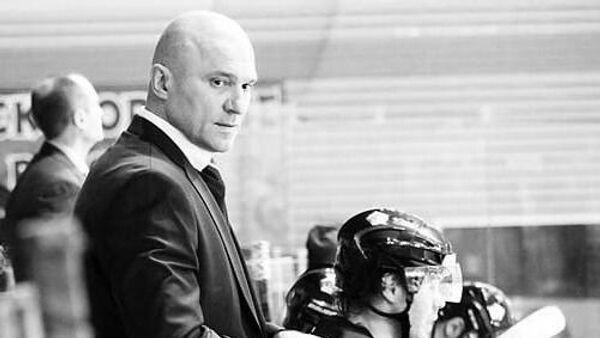 Белорусский хоккеист и тренер Владимир Цыплаков