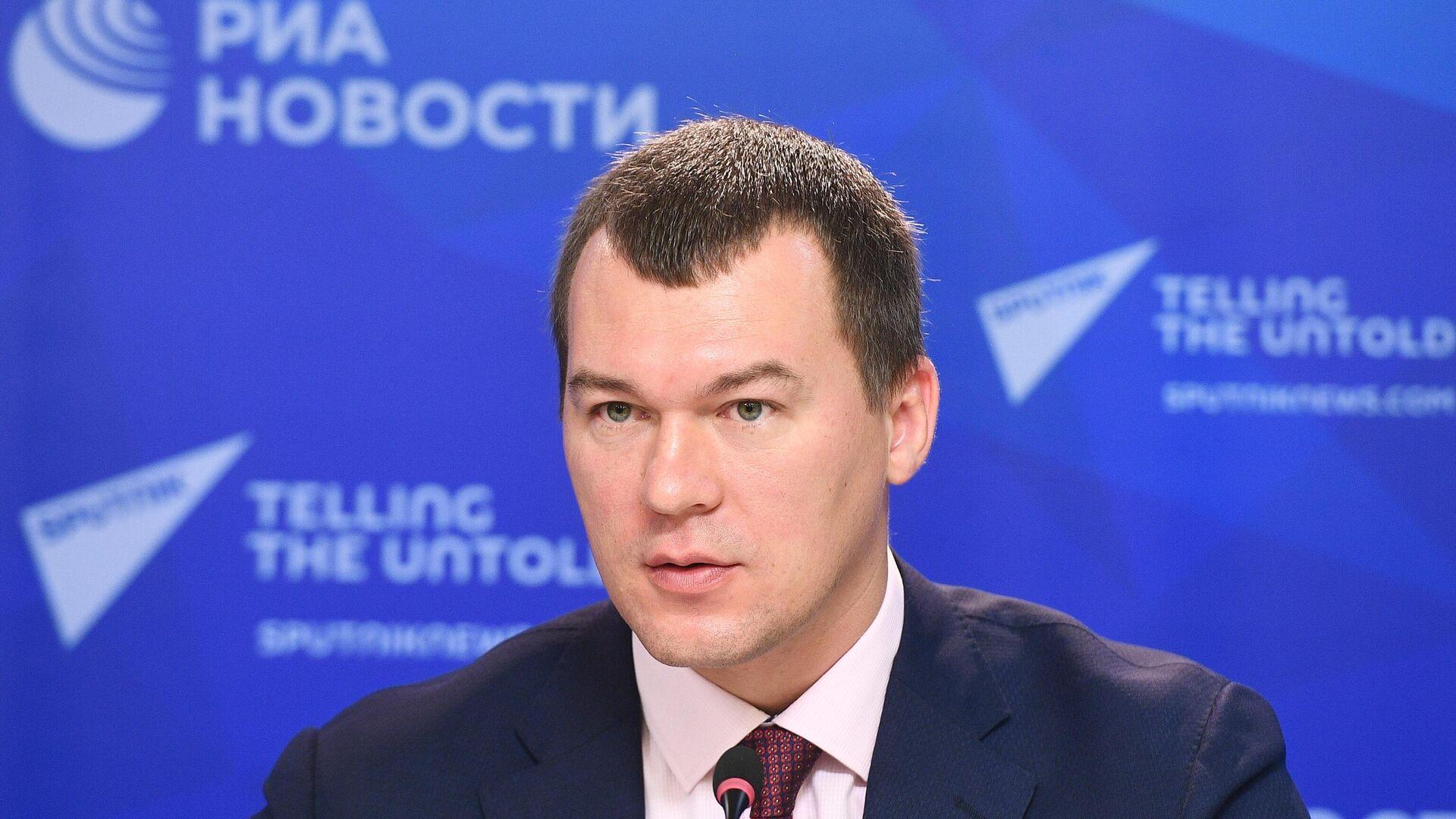 Михаил Дегтярев - РИА Новости, 1920, 14.04.2021