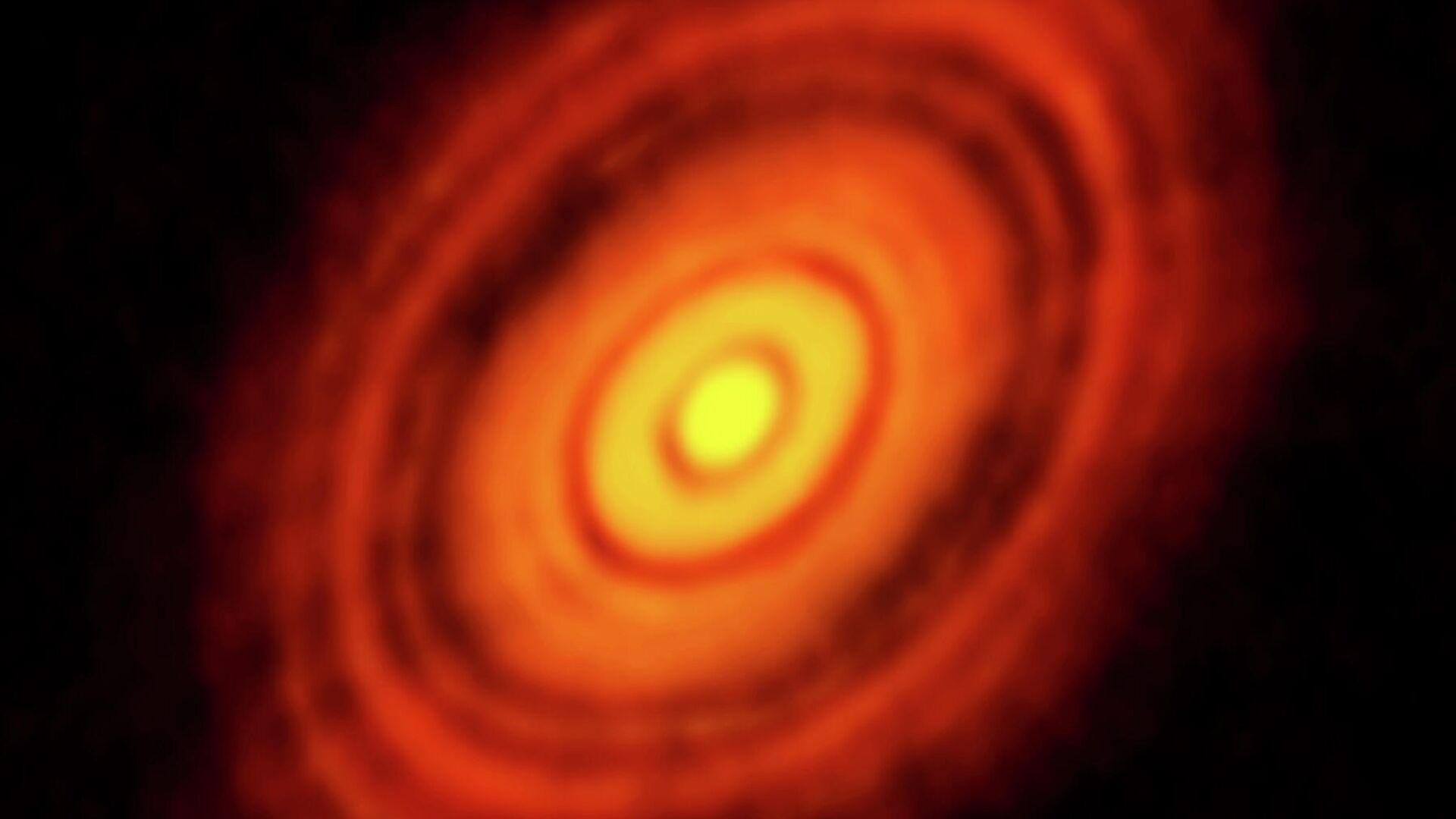 Протопланетный диск HL Тельца  - РИА Новости, 1920, 15.09.2020