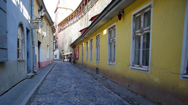 Улочка в старом городе Таллина