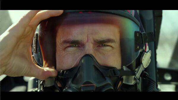 Кадр из трейлера будущего фильма Топ Ган: Мэверик