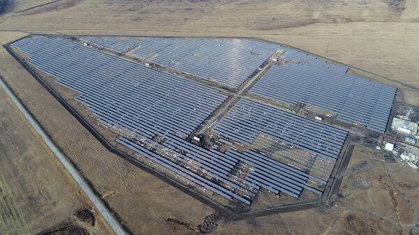 Солнечная электростанция в Республике Алтай
