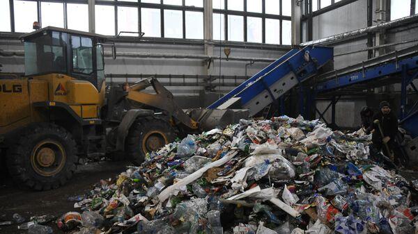 Сортировка отходов в Москве