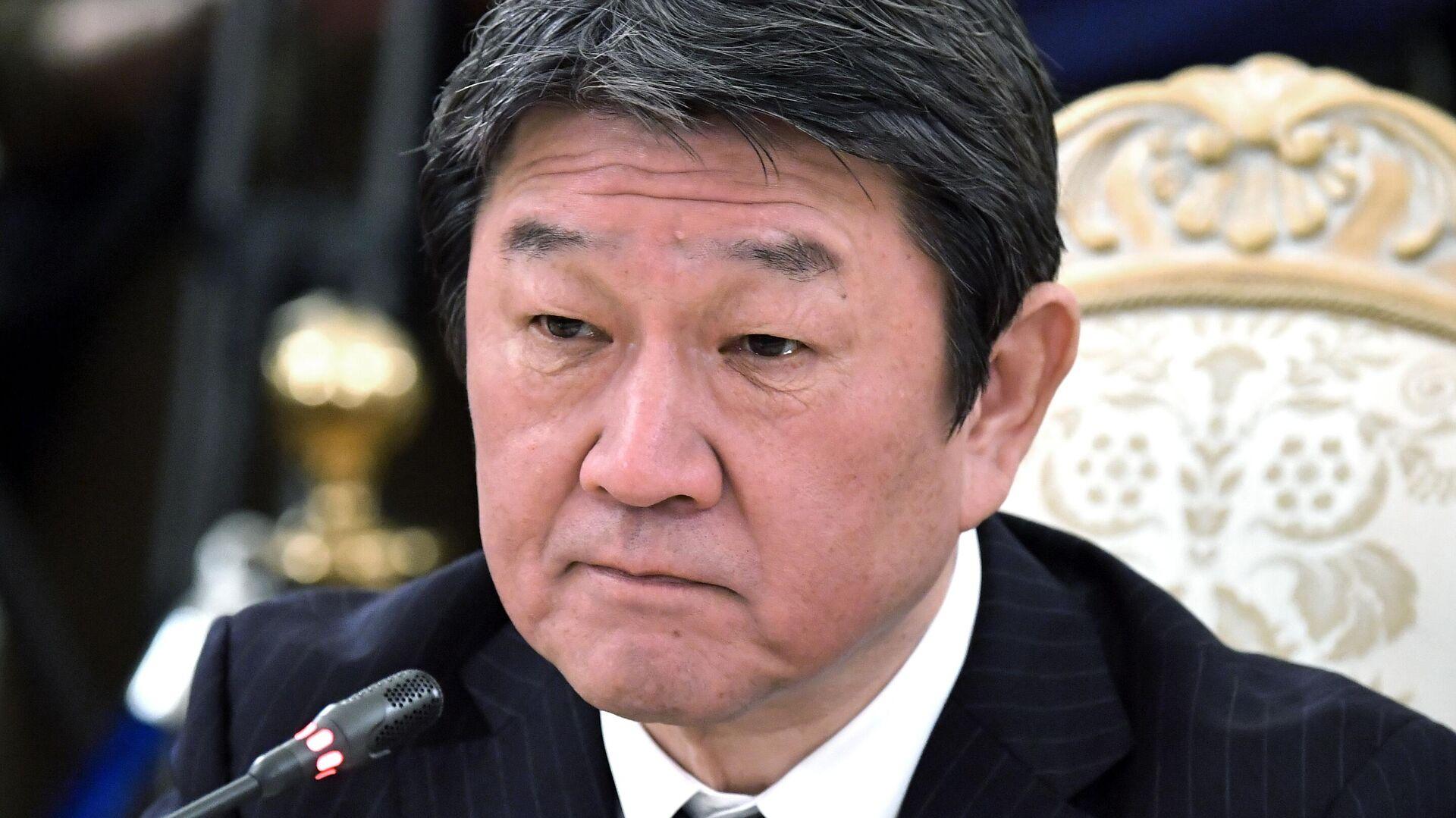 Министр иностранных дел Японии Тосимицу Мотэги - РИА Новости, 1920, 05.05.2021