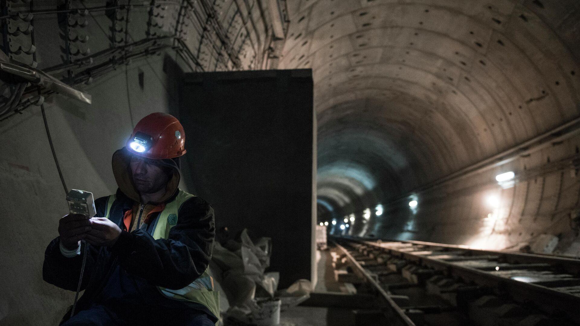 Строительство тоннеля на БАМ - РИА Новости, 1920, 17.09.2020
