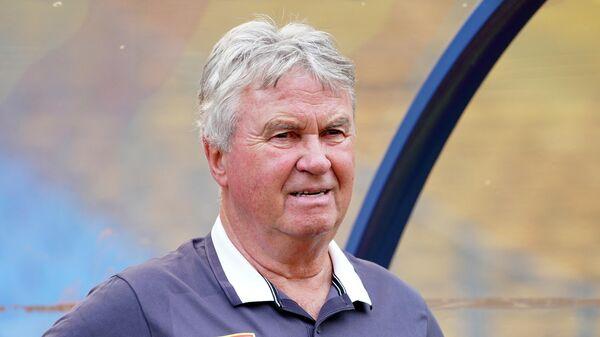 Футбольный тренер Гус Хиддинк