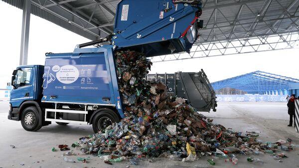 Комплекс по переработке отходов в Московской области