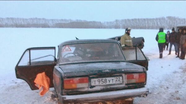ДТП в Косихинском районе на автодороге Р-256, Алтайский край