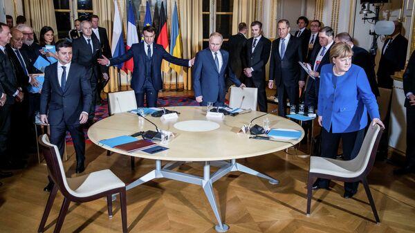 Жизнь после саммита: до чего договорилась Нормандская четверка