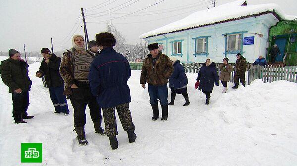 Жители села Васильевка Идринского района Красноярского края