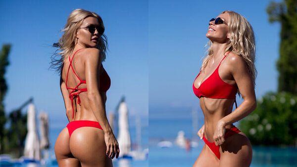 Фитнес-модель Екатерина Усманова