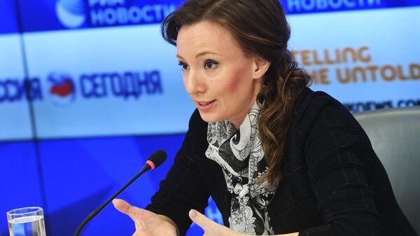 Уполномоченнный при президенте Российской Федерации по правам ребенка Анна Кузнецова в МИА Россия сегодня