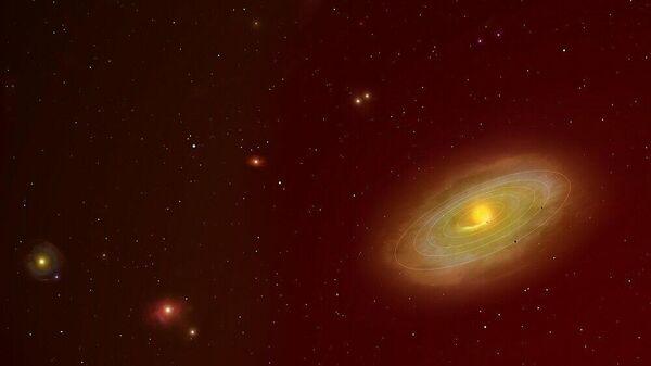 Область космоса, исследованная в рамках проекта DMPP