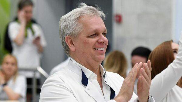 Главный врач городской клинической больницы № 67 доктор медицинских наук, профессор Андрей Шкода