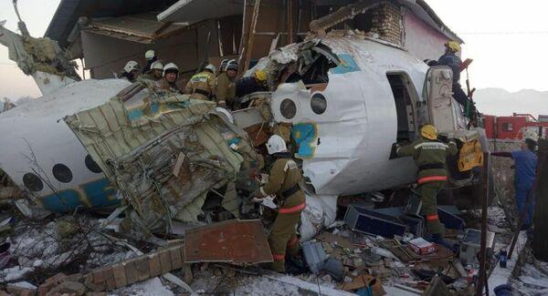 Крушение самолета в Алма-Аты