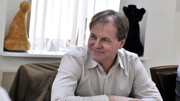 Вице-президент шахматной федерации Москвы Сергей Смагин