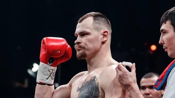 Российский боксер Алексей Егоров