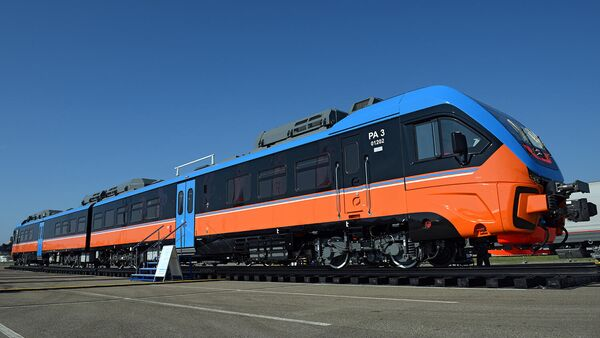 Двухвагонный рельсовый автобус РА-3