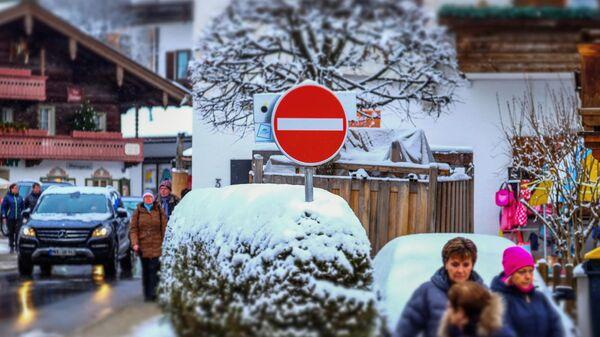 Улица в немецком Райт-им-Винкле