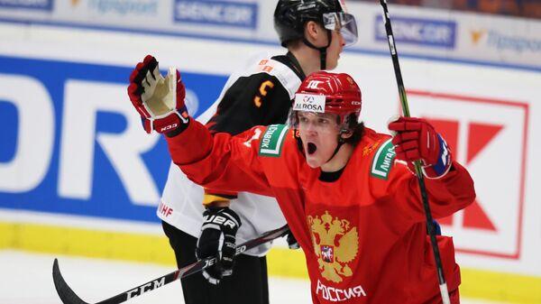Хоккеист сборной России Дмитрий Воронков