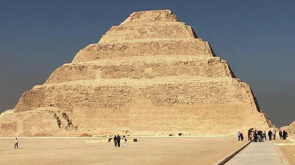 Пирамида Джосера в Каире, Египет