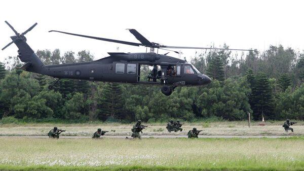 Вертолет UH-60 Black Hawk ВВС Тайваня