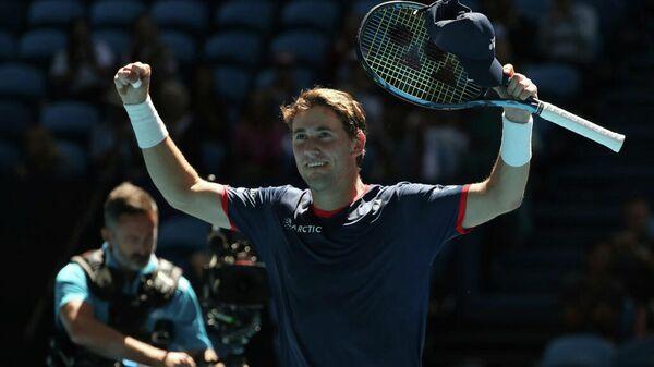 Норвежский теннисист Каспер Рууд на Кубке ATP в Австралии