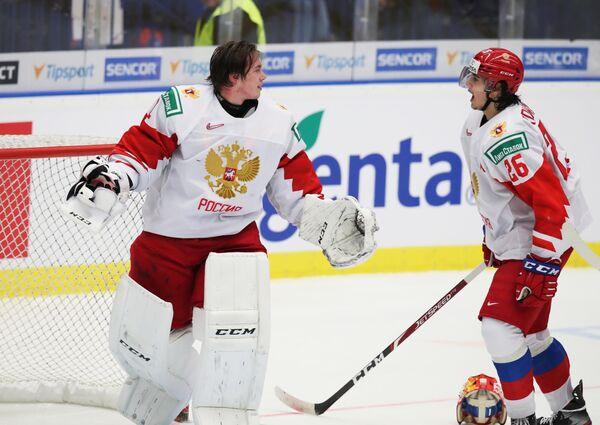 Амир Мифтахов (слева) и Александр Романов