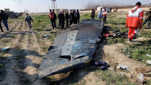 Иран отправил черный ящик со сбитого украинского самолета во Францию