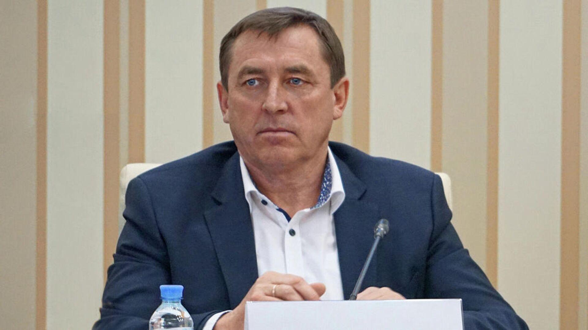 Премьер-министр Крыма Юрий Гоцанюк - РИА Новости, 1920, 25.06.2021