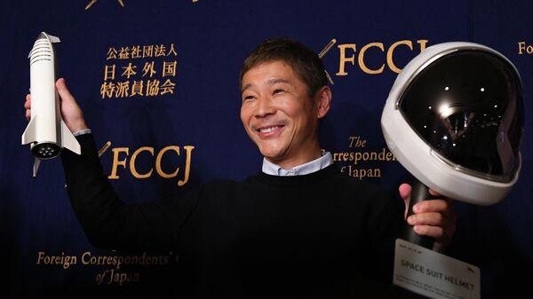 Японский миллиардер Юсаку Мэзава