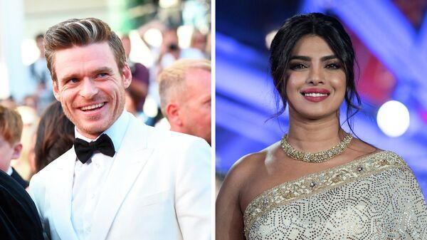 Шотландский актёр театра, кино и телевидения Ричард Мэдден и индийская актриса, фотомодель и певица Приянка Чопра