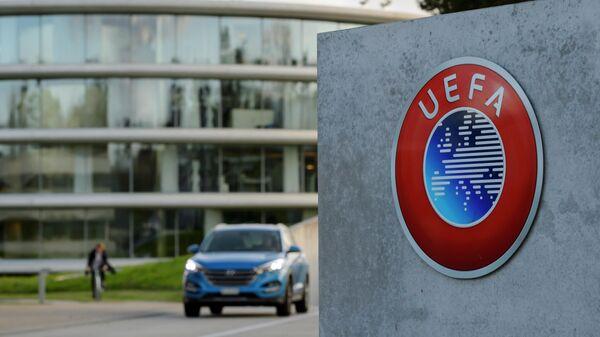 Логотип Союза европейских футбольных ассоциаций (УЕФА)