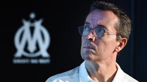 Президент французского футбольного клуба Марсель Жак-Анри Эйро