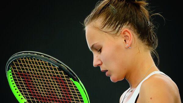 Теннисистка Вероника Кудерметова (Россия)